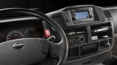 Anybody whoes is used to the Luxury of the Mercedes sprinter will find the interior a little sparse.