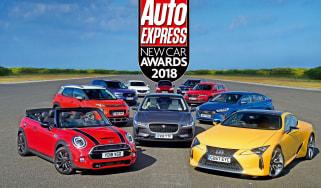New Car Awards 2018 - header