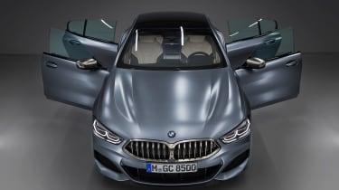 BMW 8 Series Gran Coupe - full front doors open