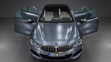 BMW 8 Series Gran Coupe - full front doors open