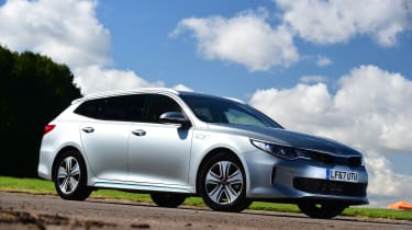 Kia Optima PHEV - front