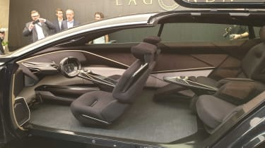 Lagonda All-Terrain concept interior