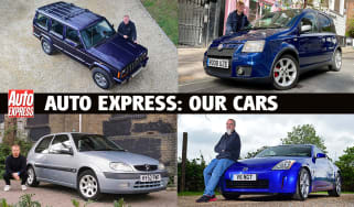 Auto Express: our cars
