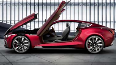 MG E-Motion concept doors