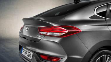 Hyundai i30 Fastback boot