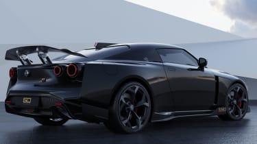 Nissan GT-R50 by Italdesign - black rear 3/4 static