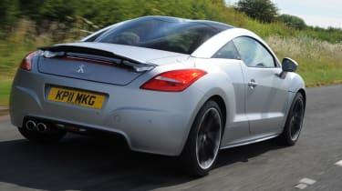 Peugeot RCZ Asphalt rear tracking