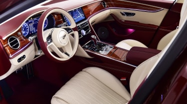 Bentley Flying Spur - studio dash