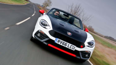 Abarth 124 Spider - full front