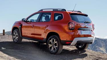 Dacia Duster facelift - rear static