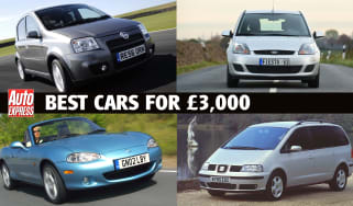 Best cars for under £3,000