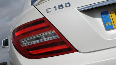 Mercedes C180 Coupe badge
