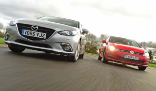 Mazda 3 vs Volkswagen Golf