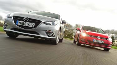 Mazda 3 vs Volkswagen Golf