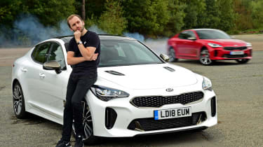 Kia Stinger - long-term final report header