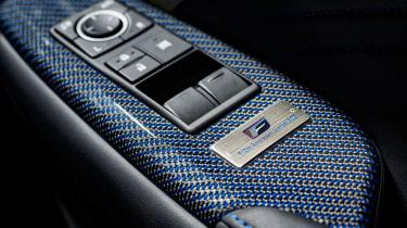 Lexus RC F 10th Anniversary blue carbon fibre
