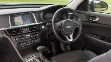 Kia Optima Sportswagon PHEV - interior
