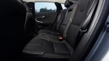 Volvo V40 Cross Country road test - rear seats
