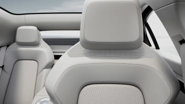 Sony Vision-S concept - seat detail