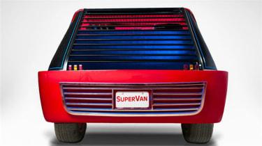 George Barris' Supervan - rear