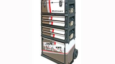 Motamec Audi Pikes Peak tool box trolley