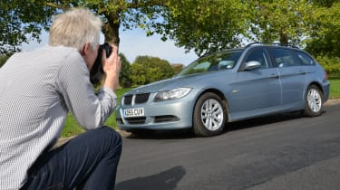 How to photograph your car for sale - low angle