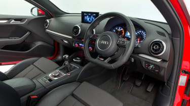Used Audi A3 Mk3 - dash