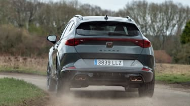 Cupra Formentor e-Hybrid - rear action