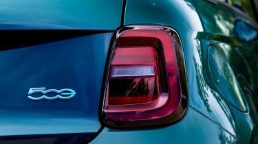 Fiat 500 - rear light