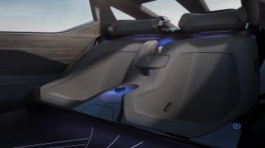Lexus LF-Z Electrified concept - rear seats