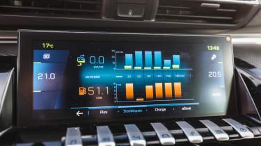 Peugeot 508 HYbrid prototype - info