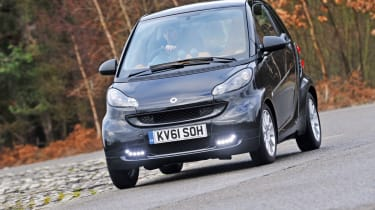 Smart ForTwo Boxfresh front cornering