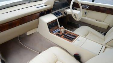 Aston Martin Lagonda - cabin