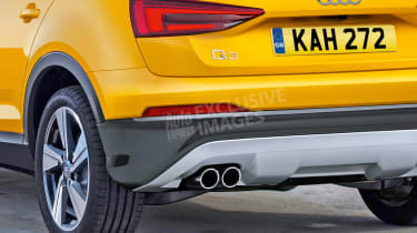 Audi Q3 - watermarked rear detail