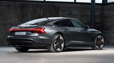 Audi e-tron GT - grey rear