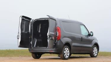 Fiat Doblo Cargo van 2015 - rear doors