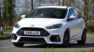Ford Focus RS first UK drive - front cornering