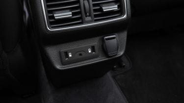 Renault Koleos - USB connectors