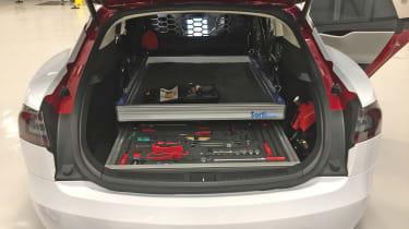 Tesla Model S repair - toolkit