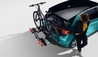 Volkswagen ID.3 bike rack