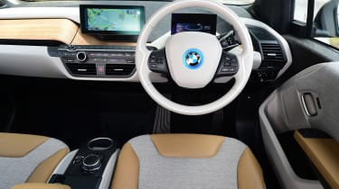 Long-term test review: BMW i3 REx interior
