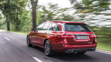 Mercedes E-Class Estate 2016 - rear tracking