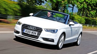 Audi A3 Cabriolet - front tracking