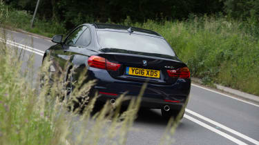 BMW 440i M Sport - rear three quarter