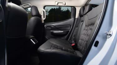 Mitsubishi L200 rear seats