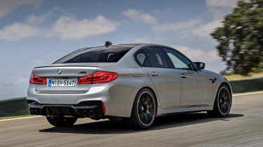 BMW M5 Competition - rear action