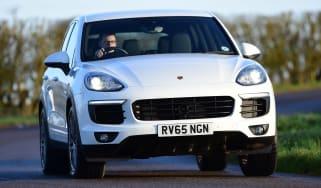 Porsche Cayenne - front driving