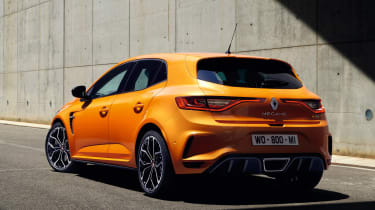 Renault Megane RS - rear static