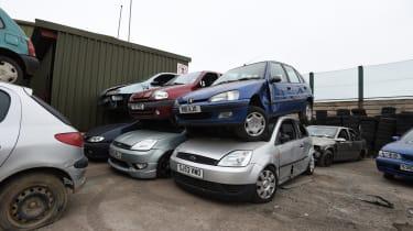 Car recycling - header
