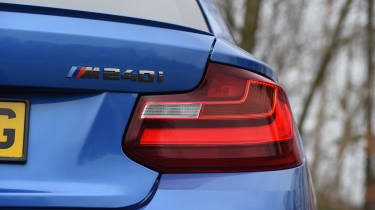 BMW M240i Coupé long term review - taillight